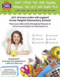 Arrow Heights 2015 - Flyer